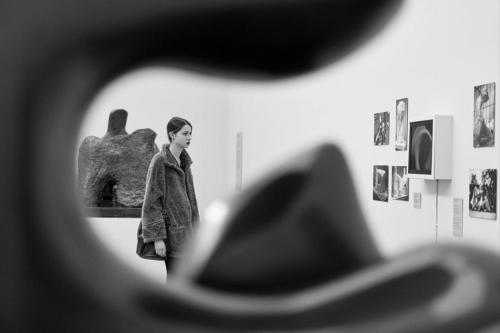 Admiring Henry Moore